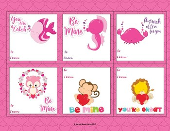 Adorable Preschool Valentine's Day Cards
