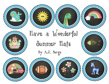 Adorable Summer Hats