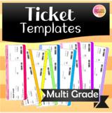 Adorable Ticket Templates