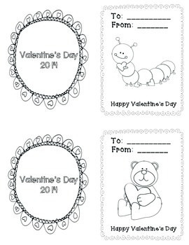 Adorable Valentine's Day Cards