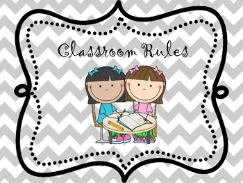 Adorable Whole Brain Teaching classroom rules posters - With clip art!