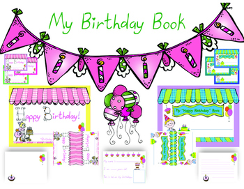 FREE Birthday Class Book Keepsake