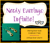 Adorably Math-y Infinite Earrings