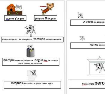 Adorbs Beginner Spanish Transitions Handout