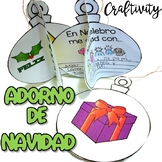 Adorno de Navidad - Christmas Ornament Writing Prompt