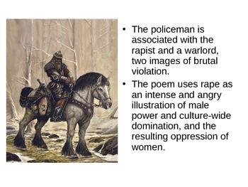 """Adrienne Rich's poem """"Rape"""""""