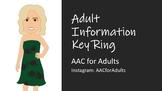 Adult Basic Information for Key Ring