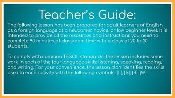 Adult Beginner ESOL Lesson Plan: Greetings (Lesson 1)