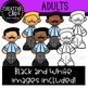Adult Clipart {Creative Clips Clipart}