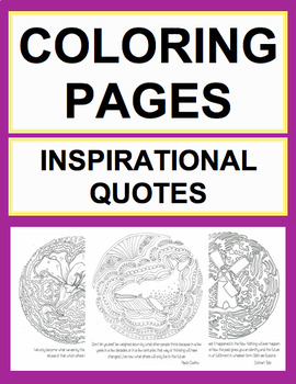 Adult Coloring Book & Art Therapy by Common Core English With Ease