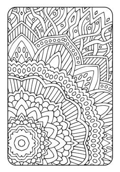 Coloring Book - Art Therapy Volume 3 - Printable PDF