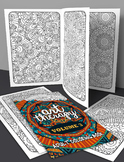 Coloring Book - Art Therapy Volume 3 - Printable PDF