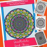 Adult Coloring Book Mandalas for Teens, Teachers and Big Kids
