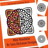 Adult Coloring Book Mandalas for Teens, Teachers and Big Kids
