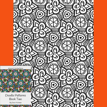 Adult Coloring Doodle Patterns for Big Kids, Teens and Teachers