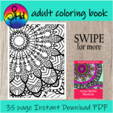 Adult Coloring Mandalas for Teens, Teachers and Big Kids