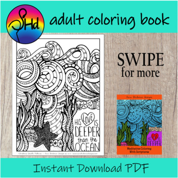 Adult Coloring Packet for Christians