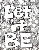 Adult Coloring Page