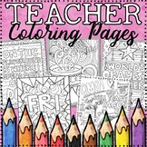 Adult Coloring Pages for Teachers | Humorous