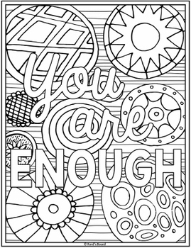 Inspirational Coloring Pages for Teachers | Distance ...