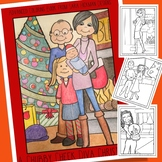 Adult Coloring with Chubby Cheek Diva Christmas for Teens,