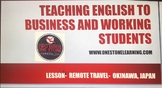 Deluxe Lesson Plan-  Student Handout, and Answers  (Remote Travel)