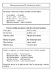 Adult ESL activity packet for the present perfect