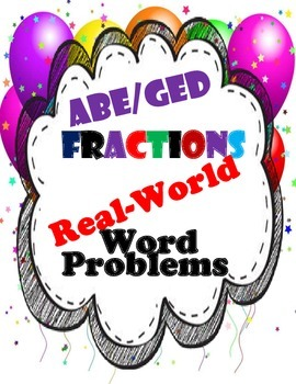 Adult Education Math-Fractions
