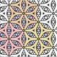 Adult Level Color In Detailed Coloring Patterns 2 / Digita