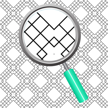 Adult Level Detailed Coloring In Grid Patterns / Digital Paper / Backgrounds