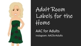 Adult Room Labels for the Home