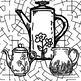 Color and Create Scenes, Towns, Tea Pots and More, Adult/Teen Coloring Fun