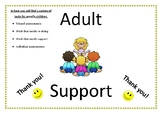 Adult support pack front cover
