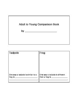 Adult to Young Comparison Book  - 2.L.2
