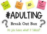 Adulting Breakout Box/Escape the Room Game for Family Cons