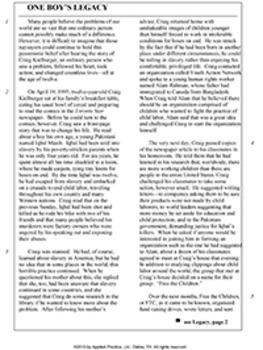 Adv of Huckleberry Finn Triplet English skills worksheet by Applied Practice