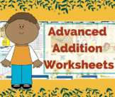 Advance Colorful and Printable Addition Worksheets