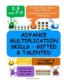 Advance Multiplication & Division Skills – All Kids are Gifted Grades 2-3