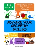 Advance Geometry Skills Grades 1-2 All Kids are gifted and