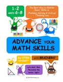 Advance Your MATH with Lego & Brainers {Freebee Printables}