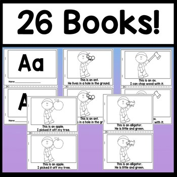 Advanced Alphabet Books {26 Letter Books A-Z!}