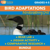 Advanced Animal Research Project - Birds and Their Adaptations