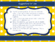 Advanced Animal Science Objective Posters - Blue and Gold Theme