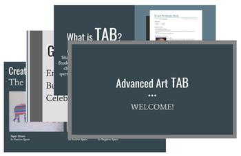 Advanced Art TAB