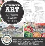 Free: Advanced Art or Advanced Placement (AP) Art Project, Artwork Rework