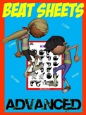 Advanced Beat Sheets Dance Activity with new rhythms for students