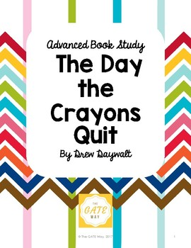 Advanced Book Study: The Day the Crayons Quit