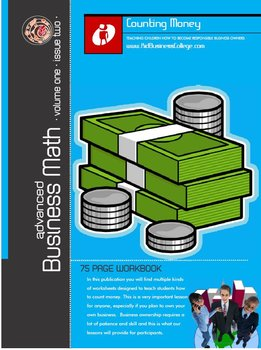 Advanced Business Math For Life Skills Training Story Problems & Counting Money