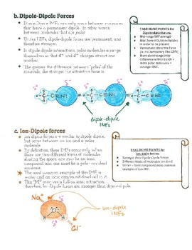Advanced Chemistry Lecture Notes--Intermolecular Forces