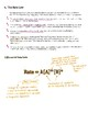 Advanced Chemistry Lecture Notes--Kinetics
